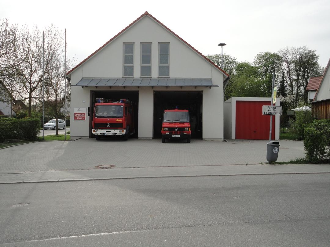 Gerätehaus der FF Graß